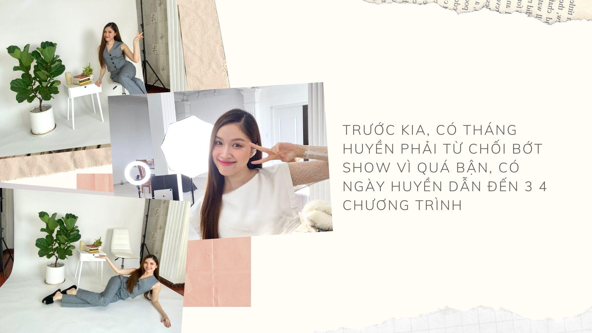 """MC Thanh Thanh Huyền: """"Có lẽ nghề MC đã chọn tôi"""" - 2"""