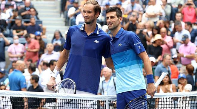 Chung kết US Open: Djokovic được fan cổ vũ, vẫn bật khóc vì đẳng cấp Medvedev - 1