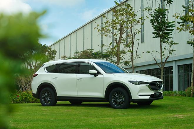 Giá xe Mazda CX-8 lăn bánh tháng 9/2021, giảm trực tiếp 70 triệu đồng - 1