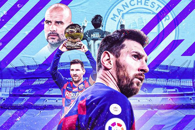 Pep phớt lờ Messi - PSG, chỉ ra đối thủ khó nhất của Man City ở cúp C1 - 1