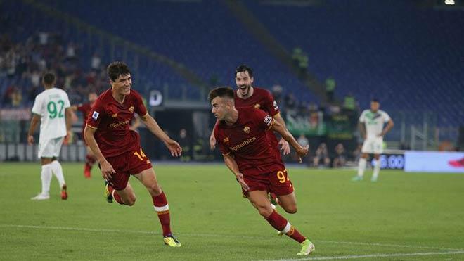 Kết quả bóng đá AS Roma - Sassuolo: Siêu kịch tính phút bù giờ, Mourinho chạm cột mốc - 1