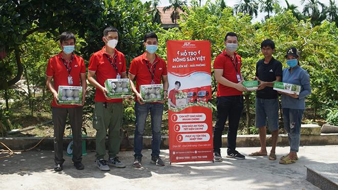 J&T Express nối dài hành trình hỗ trợ tiêu thụ nông sản Việt - 1