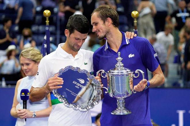 Djokovic sau cú sốc US Open vẫn mơ vượt Federer và Nadal - 1