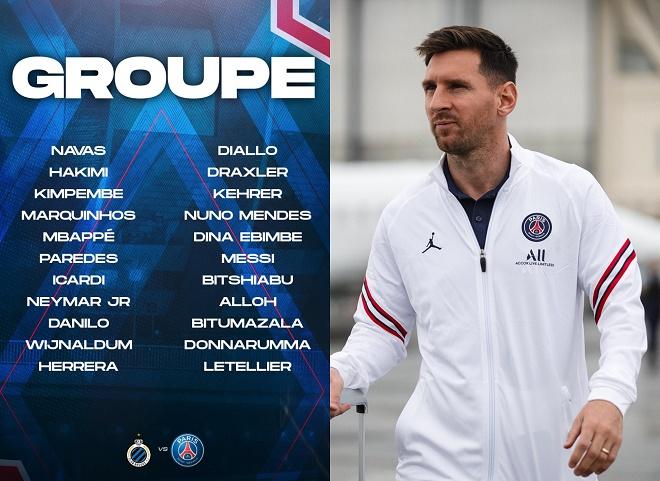 PSG đăng ký Messi trận ra quân Cúp C1, tam tấu M-N-M lần đầu sát cánh - 1