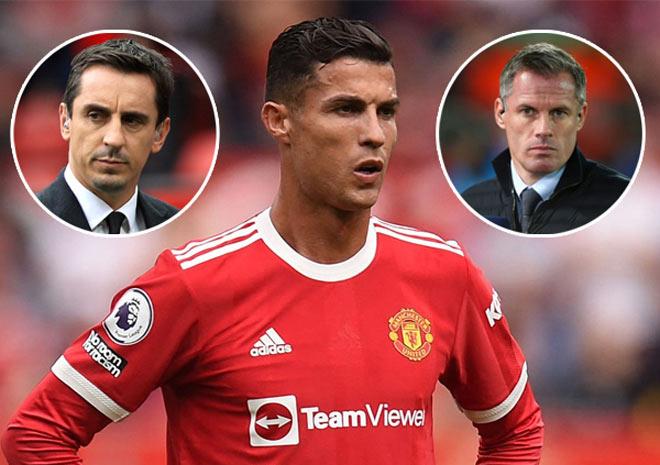 Ronaldo được huyền thoại MU khen hay hơn Messi: Cựu sao Liverpool chê lố bịch - 1