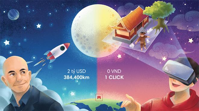 Lần đầu tiên Rever tổ chức sự kiện ngắm trăng 3D trực tuyến tại Việt Nam - 1