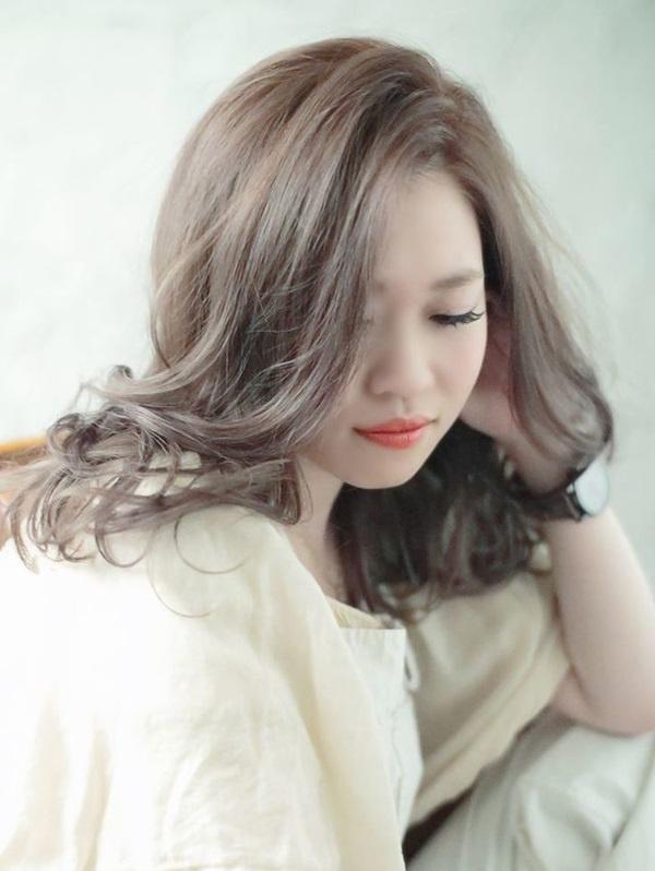12 màu tóc nâu xám đẹp ấn tượng nổi bật và cá tính được yêu thích nhất - 1