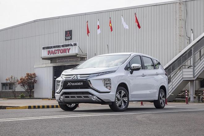 Giá xe Mitsubishi Xpander tháng 9/2021, hỗ trợ 50% phí trước bạ - 1