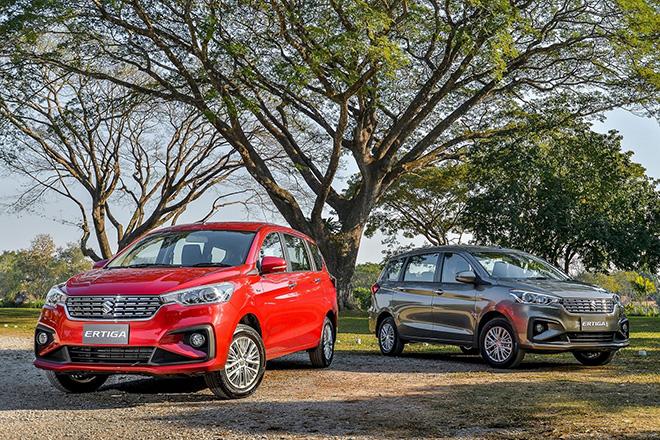 Giá xe Suzuki Ertiga lăn bánh tháng 9/2021, ưu đãi 28 triệu đồng - 1