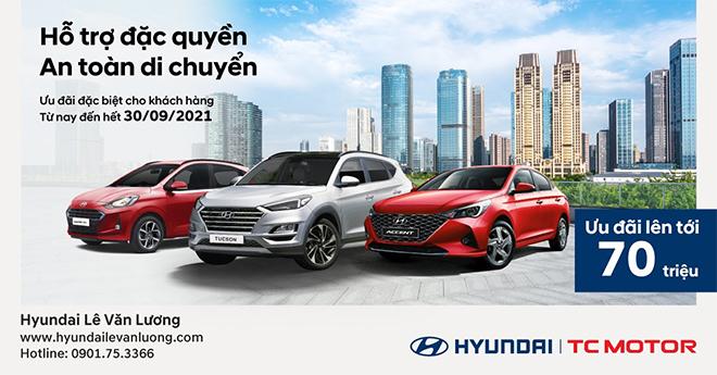 Hyundai Lê Văn Lương trao ngàn ưu đãi, thoải mái vượt dịch - 1