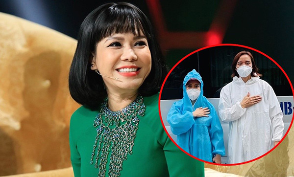 Nghệ sĩ hài Việt Hương chia sẻ bí kíp thoátđau nhức xương khớp cực nhạy - 1