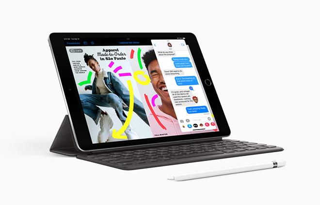 Ra mắt iPad 9: Chip khỏe, camera selfie xịn, giá từ 7,4 triệu đồng - 1
