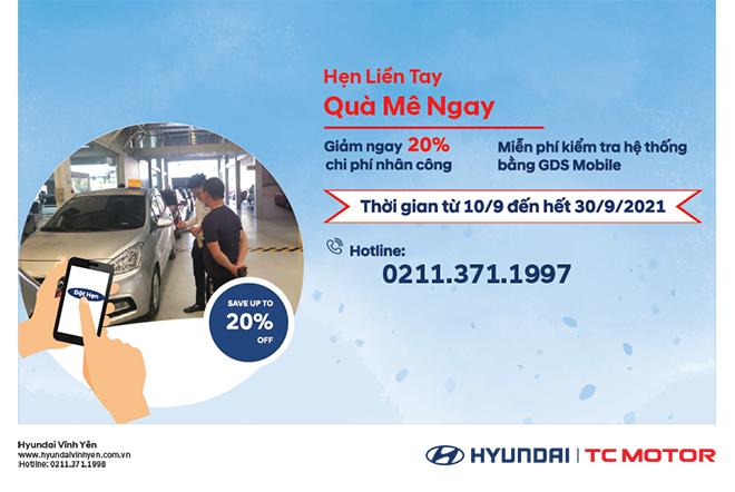 Chương trình khuyến mãi dịch vụ chào hè 2021 tại Hyundai Vĩnh Yên - 1