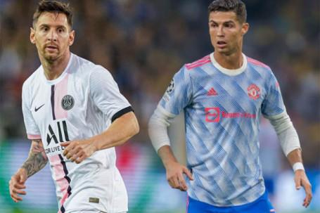 Kịch bản sốc Cúp C1: Ronaldo - MU & Messi - PSG rủ nhau xuống chơi Europa League