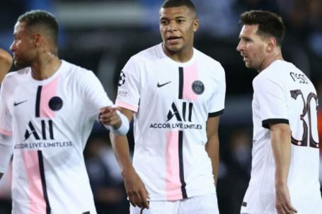 """""""Tam tấu"""" Messi - Neymar - Mbappe ra mắt thảm họa: Người vô duyên, kẻ rời sân sớm"""