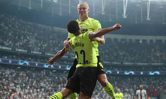 SAO 18 tuổi Dortmund bừng sáng: Fan MU & Liverpool choáng ngợp, Haaland khâm phục - 1