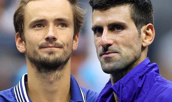 """Medvedev nhăm nhe """"cướp"""" ngôi số 1, Djokovic nguy cơ """"mất cả chì lẫn chài"""" - 1"""