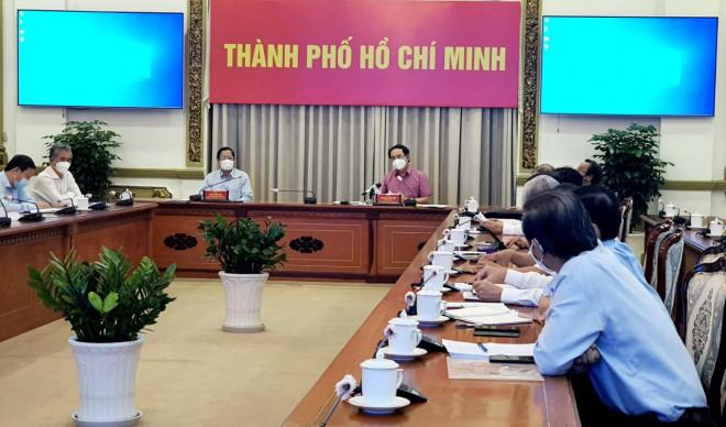 Bí thư TP.HCM Nguyễn Văn Nên: Chuẩn bị nhiều chiến lược để mở cửa TP.HCM - 1
