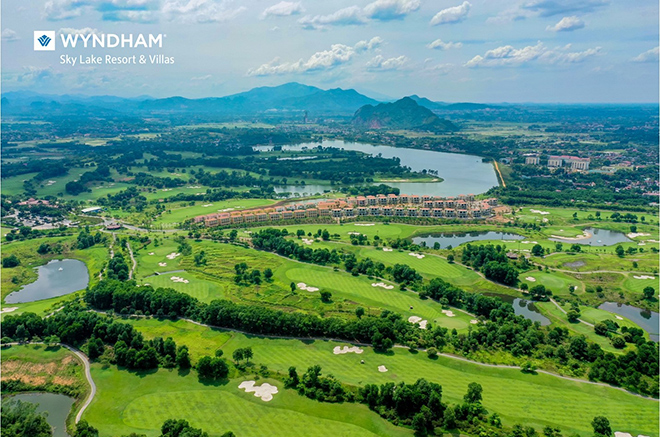 Quần thể nghỉ dưỡng sân golf 5 sao hiện hữu tại Tây thủ đô - 1