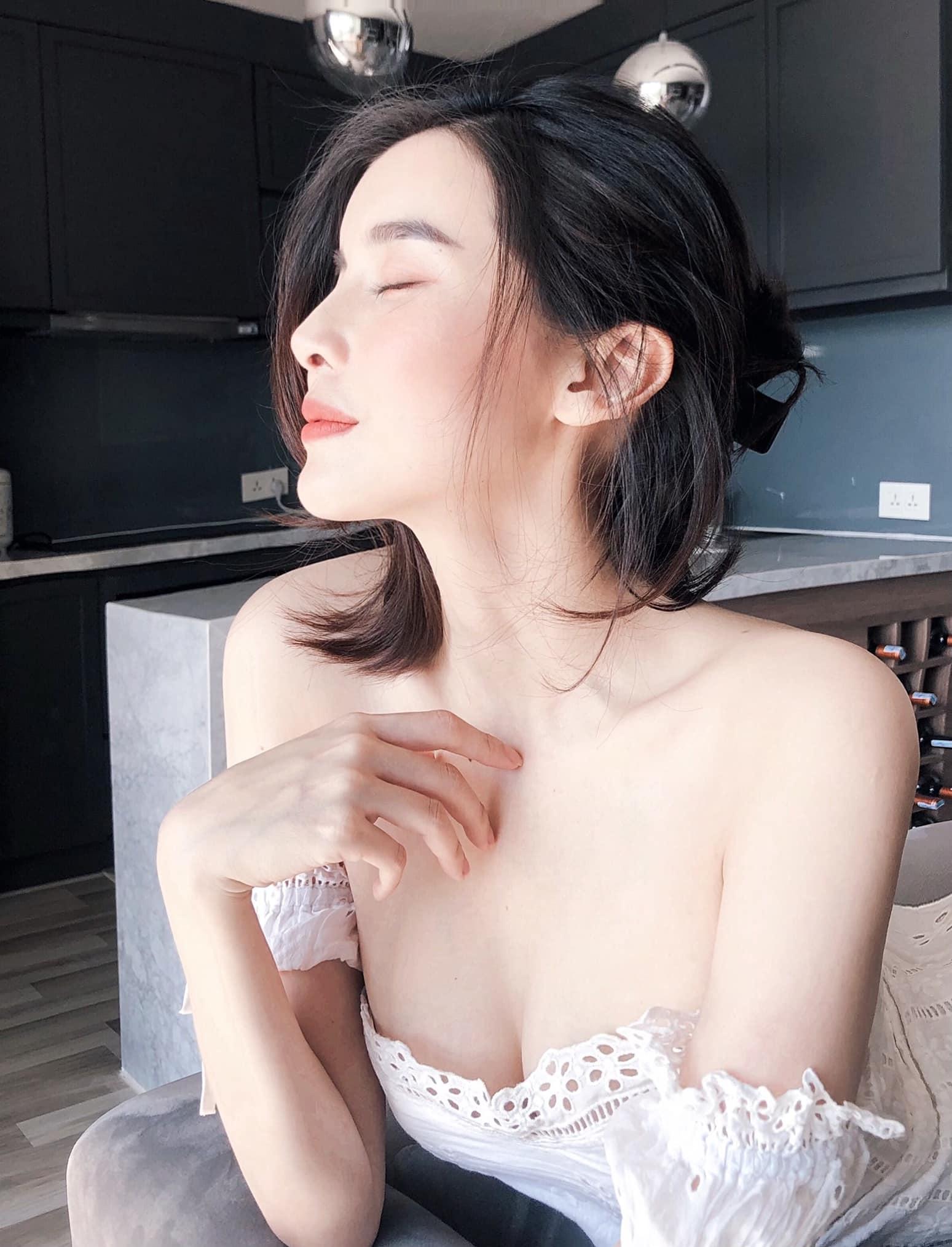 """Cao Thái Hà giữ dáng chuẩn """"Người đẹp Tây đô"""" - 1"""