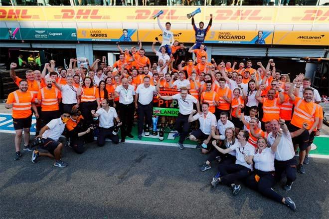 """Đua xe F1, Italian GP: """"Cơn lốc da cam"""" đổ bộ Monza, McLaren dứt cơn khát 170 chặng - 1"""