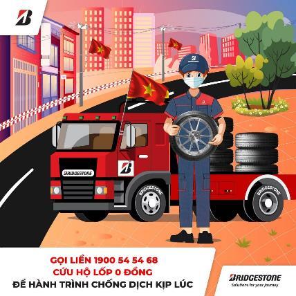 Bridgestone chung tay giúp hành trình chống dịch thêm an toàn - 1