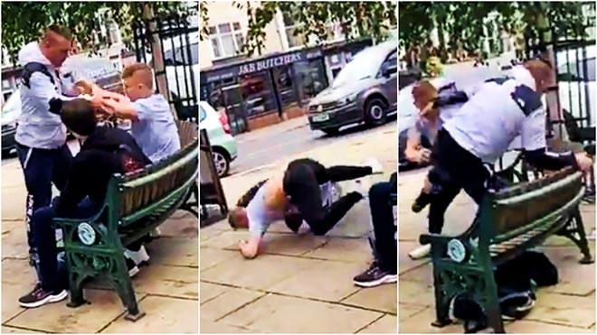 Gã trai bắt nạt thiếu niên 16 tuổi, xấu số gặp vô địch võ thuật thế giới - 1