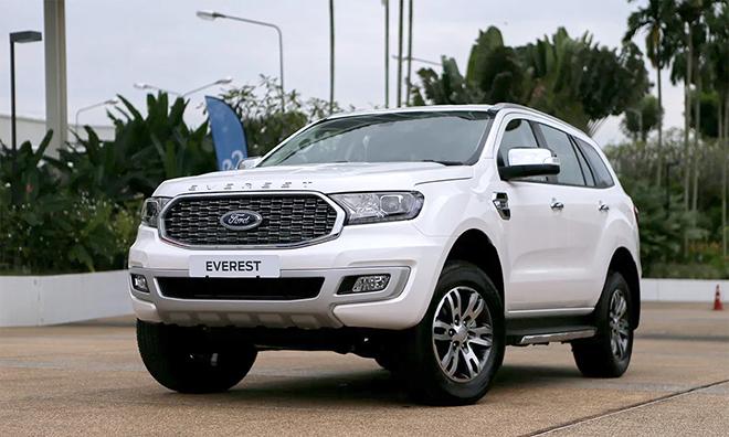 Giá xe Ford Everest lăn bánh tháng 9/2021, ưu đãi 20 triệu đồng - 1
