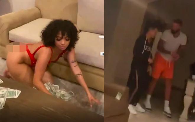 """Đỏ mặt clip """"thác loạn"""" sao NBA: Dàn vũ nữ thoát y trong """"biển tiền"""" - 1"""