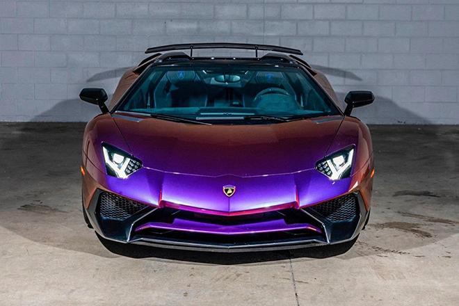 Ngắm siêu phẩm Lamborghini Aventador SV màu độc duy nhất trên thế giới - 1