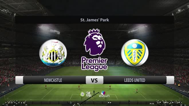 """Video bóng đá Newcastle - Leeds: Đôi công hấp dẫn, vinh danh 2 """"người nhện"""" (Vòng 5 Ngoại hạng Anh)"""