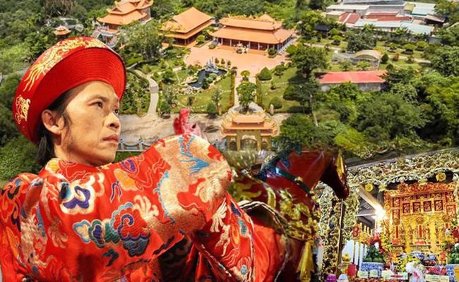 Hoài Linh là danh hài có thù lao cao nhất nhì làng giải trí Việt. Năm 2014, nghệ sĩ này đã xây nhà thờ Tổ vô cùng hoành tráng tại Việt Nam.