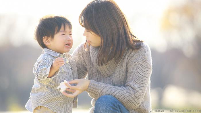 Chuyên gia giáo dục TQ khuyên: Trẻ khóc khi gặp vấn đề, bố mẹ nên nói 4 từ này càng sớm càng tốt - 1