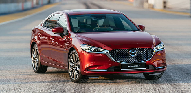 Giá xe Mazda6 lăn bánh tháng 9/2021, ưu đãi 85 triệu đồng - 1