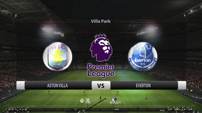 Video bóng đá Aston Villa - Everton: Sức ép nghẹt thở, vỡ òa 9 phút 3 bàn (Vòng 5 Ngoại hạng Anh)