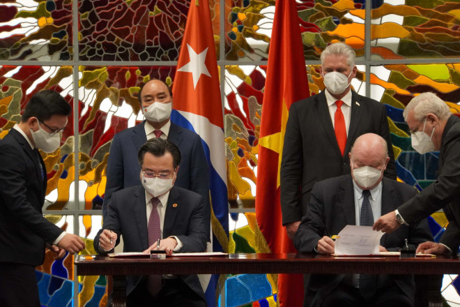 Chủ tịch nước Nguyễn Xuân Phúc được trao Huân chương José Marti cao quý nhất của Cuba - 1