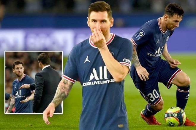 Messi 0 bàn, 0 kiến tạo ở PSG: Nỗi lo HLV Pochettino khó làm thầy M10 - 1
