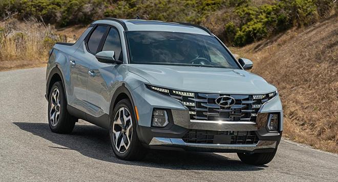 Xe bán tải Hyundai Santa Cruz gây bão về doanh số trong tháng 8 tại Mỹ - 1