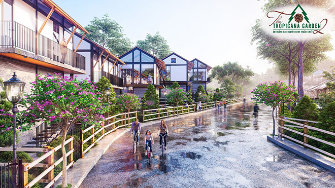 Biệt thự sinh thái The Tropicana Garden 2 - Điểm nghỉ dưỡng độc đáo tại Bảo Lâm - 1