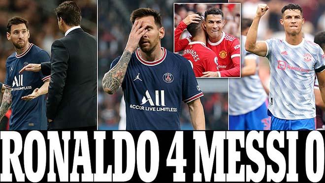 Ronaldo Messi 4-0: Cuộc đua Quả bóng vàng đổi chiều, CR7 mơ hồi sinh ở MU - 1