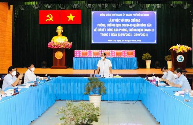 Sau ngày 30-9, quận Bình Tân sẽ làm gì trong tình trạng bình thường mới?