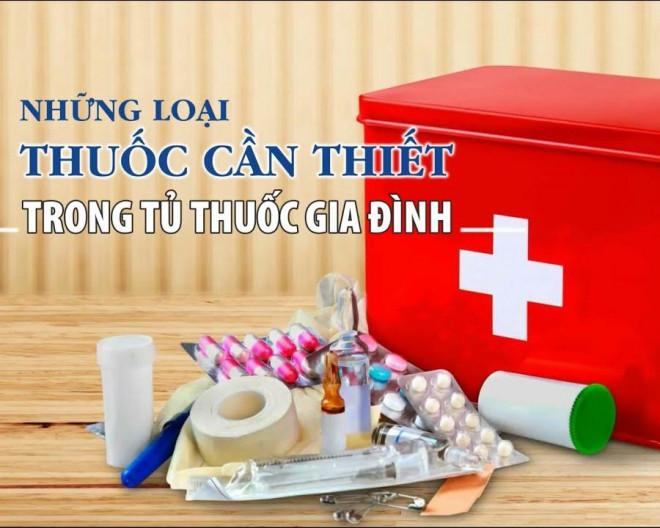Các loại thuốc cần có trong tủ thuốc gia đình mùa dịch COVID-19 - 1