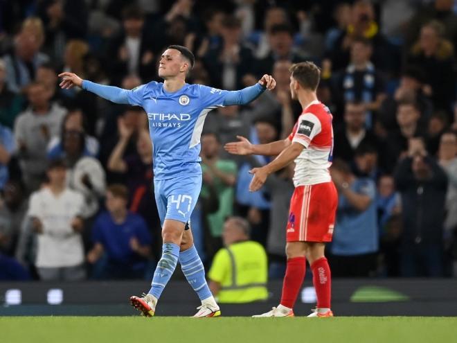 """Video bóng đá Man City - Wycombe: Bàn thua bất ngờ, 6 lần """"trút giận"""" (League cup) - 1"""