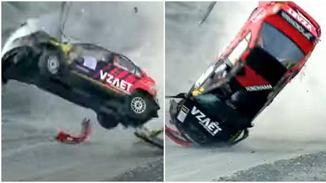 Tai nạn xe lăn 7 vòng như phim Điệp viên 007, tài xế sống sót thần kỳ - 1