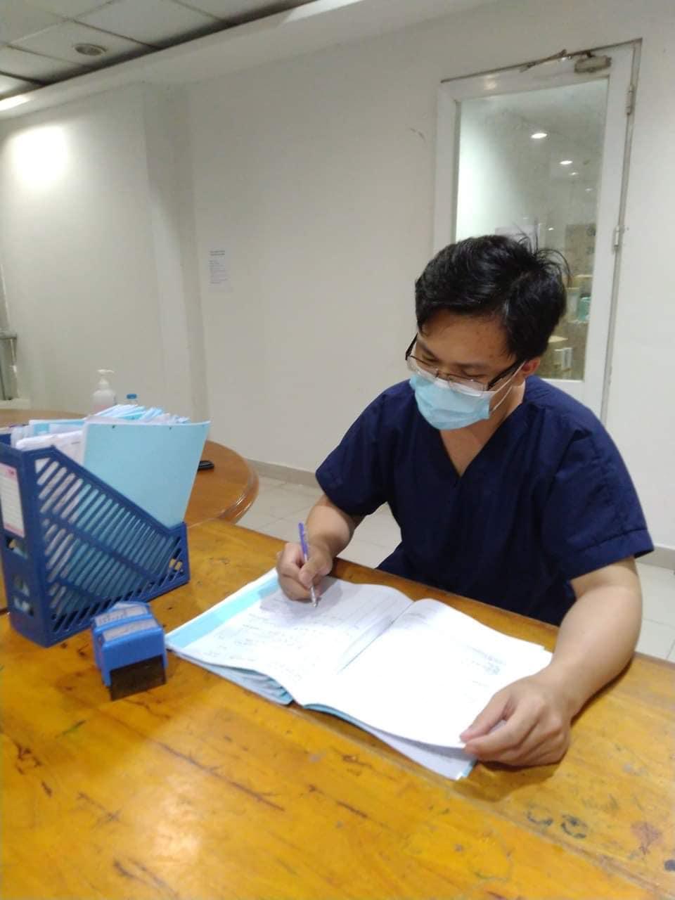 Nhật kí trong tâm dịch và những ngày tháng không quên của bác sĩ chi viện cho TP.HCM - 1