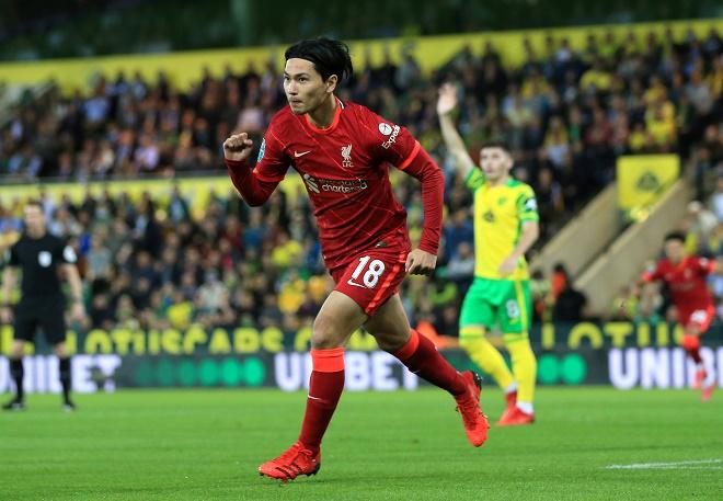 Video bóng đá Norwich - Liverpool: Cú đúp Minamino, vùi dập 3 bàn (League cup) - 1