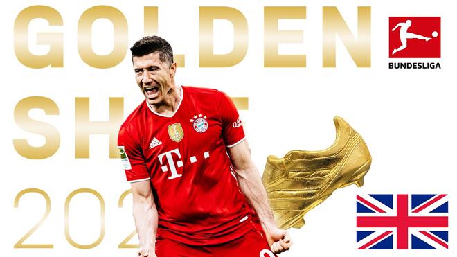 """Lewandowski giành Giày vàng, nói điều khiến Man City - Real Madrid """"sôi sục"""" - 1"""