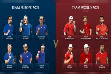 """Nóng bỏng Laver Cup 2021: ĐT châu Âu quyết thắng với """"thủ lĩnh"""" Medvedev"""