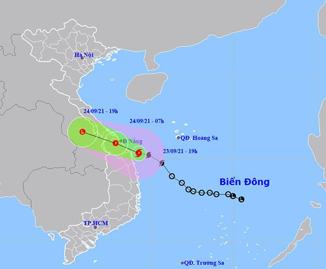 Bão số 6 quần thảo vùng biển Quảng Trị-Quãng Ngãi, mưa to, gió giật nhiều nơi - 1