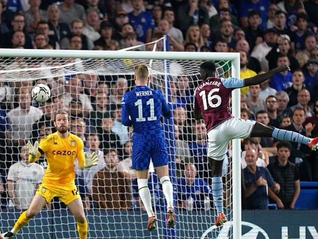 """Video bóng đá Chelsea - Aston Villa: Luân lưu định đoạt, """"người nhện"""" rực sáng (Vòng 3 Cúp Liên đoàn) - 1"""